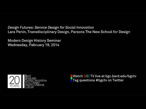 Lara Penin, Design Futures: Service Design for Social Innovation
