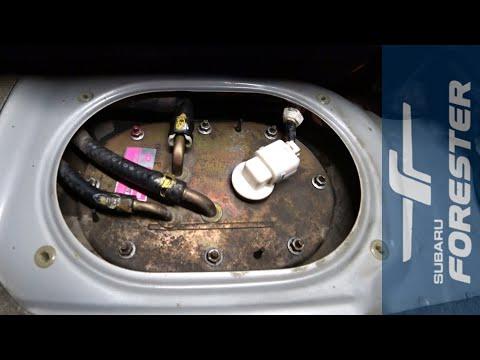 Как снять бензонасос на Subaru Forester SF