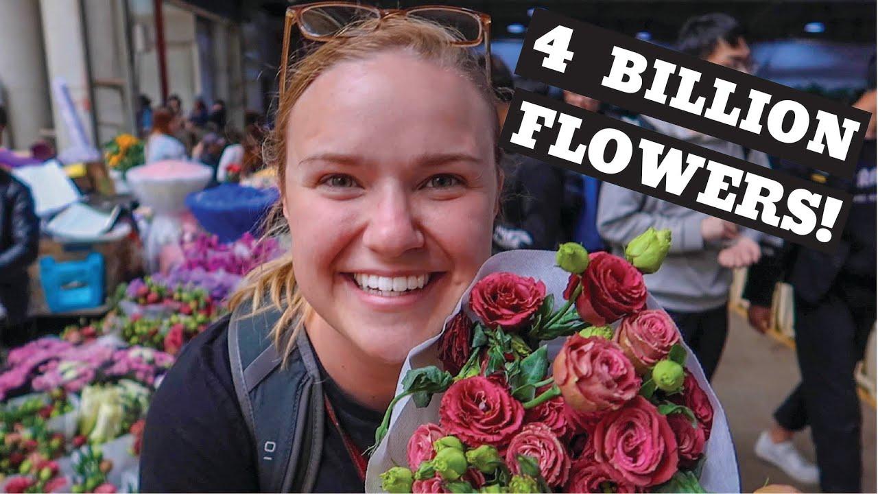 Asia's Largest Flower Market | China