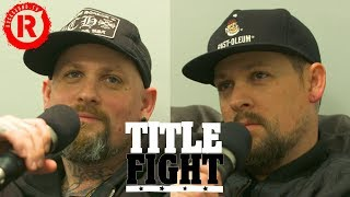How Many Good Charlotte Songs Can Joel & Benji Madden Name In 1 Minute? - Title Fight