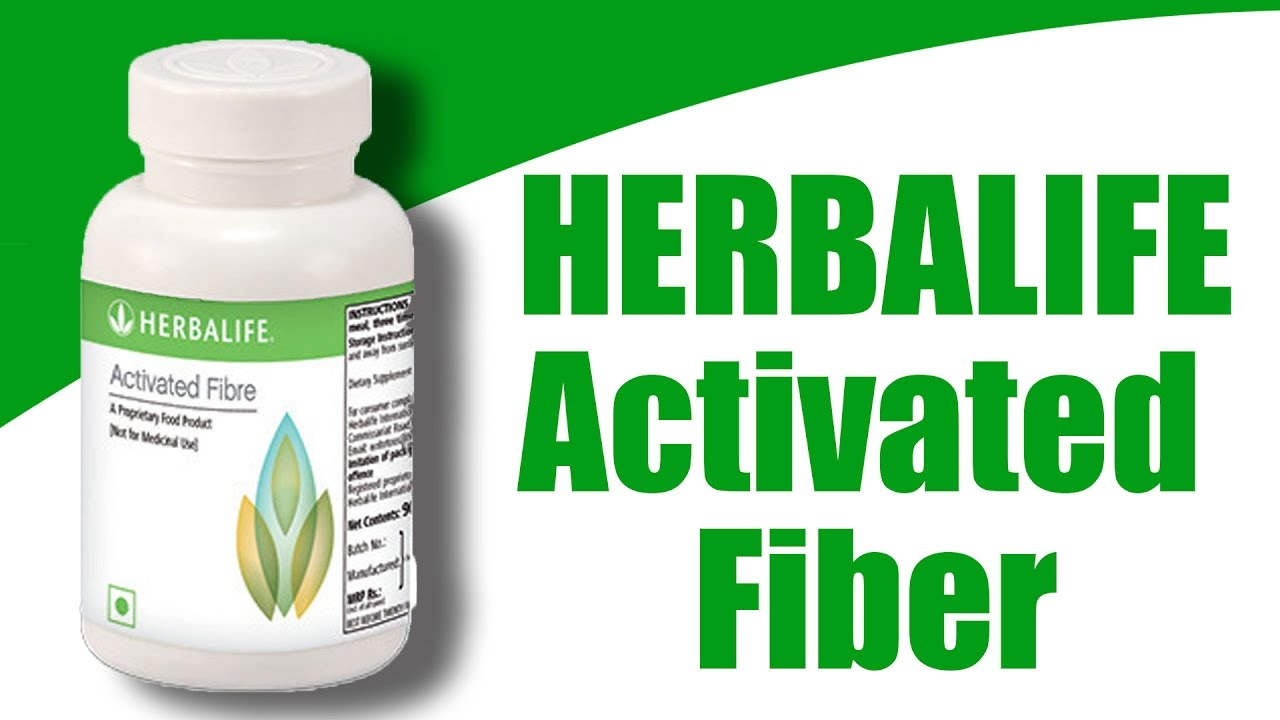 Herbalife activated fiber reduce weight in