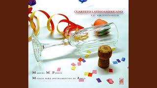 String Quartet: I. Allegro moderato ma energico