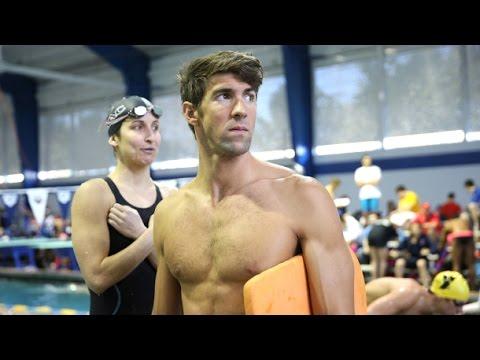 Michael Phelps Last Ever Race