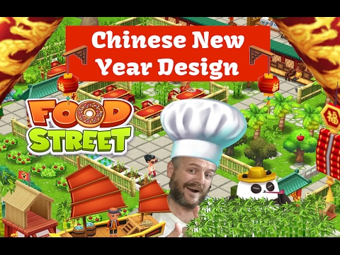 Food Street Live - Chinese New Year Redesign