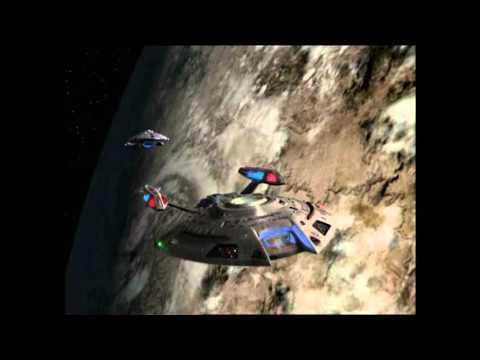 Star Trek Voyager - Voyager attacks USS Equinox