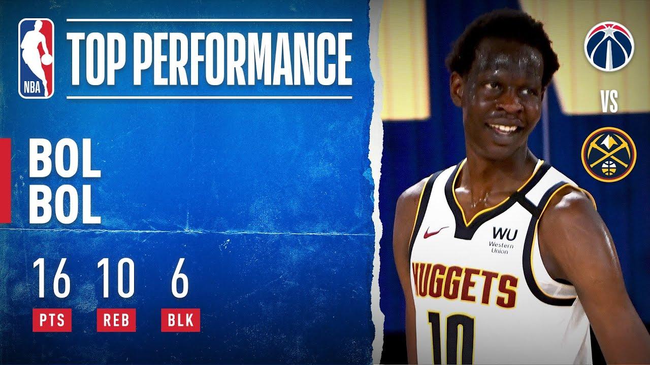 Bol Bol Shows Versatility In First NBA Action - NBA