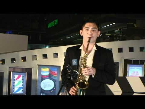 Timothy Sun - Saxophone Solo at 1881 Heritage, Hong Kong