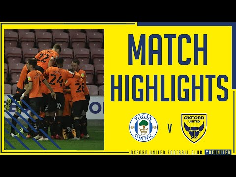 Wigan Oxford Utd Goals And Highlights