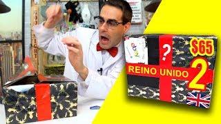 Me pincho con Caja Misteriosa de Reino Unido 2 📦❓ | Caja Sorpresa