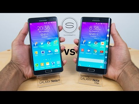 Samsung Galaxy Note Edge vs Note 4 - Review/Comparison