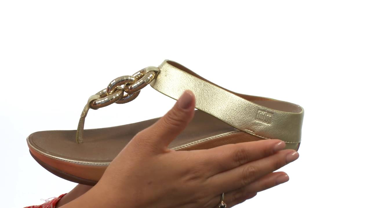 48d671105306 FitFlop Superchain Toe Post SKU 8668992 - YouTube