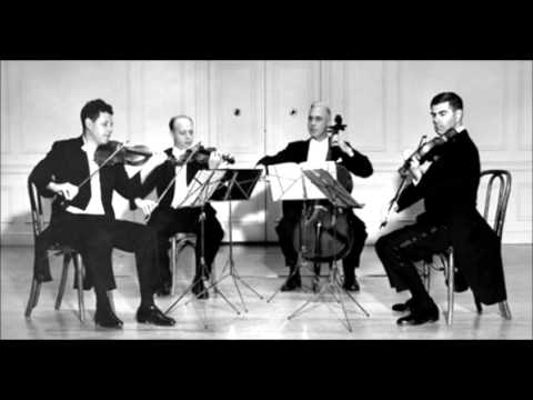 Bartók - String quartet n°1 - Juilliard 1963