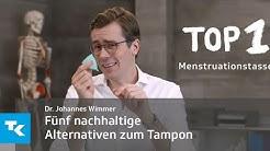 Fünf nachhaltige Alternativen zum Tampon | Dr. Johannes Wimmer