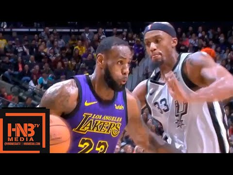 LeBron James Full Highlights 2018.12.05 Lakers vs Spurs - 42 Pts, 4th QTR EXPLOSiON! | FreeDawkins