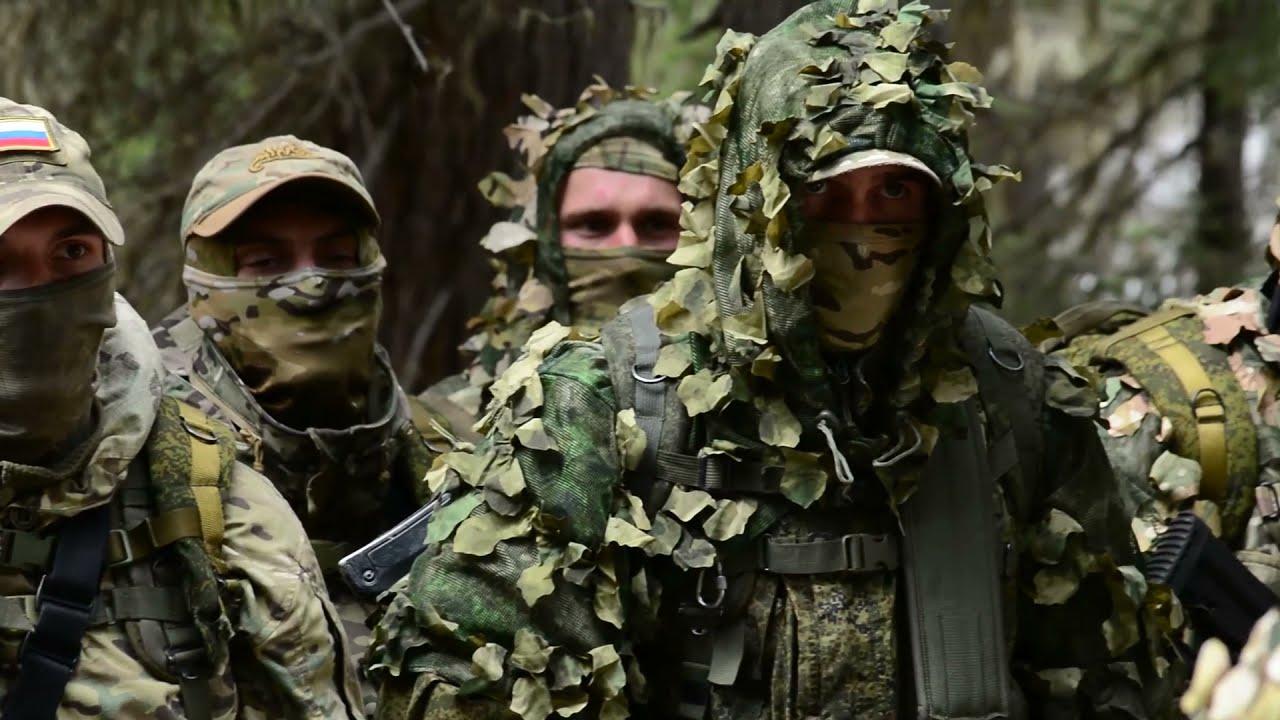 Второй этап совместного учения подразделений спецназа России и Узбекистана