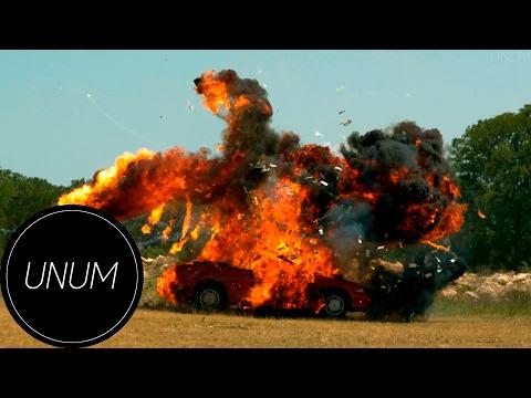 The Slow Mo Guys на Русском (Выпуск # 6) - Взрыв кабриолета