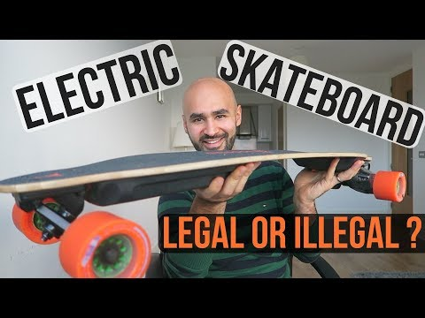 Electric Skateboarding in Ireland  LEGAL or ILLEGAL? #electr