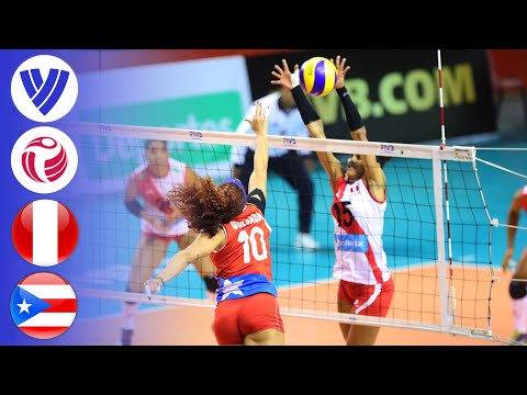 Peru vs. Puerto Rico - Full Match | Group 2 | Women's Volleyball World Grand Prix 2017