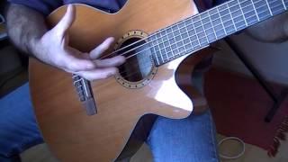Tuto débutants 1er compas/rumba à la guitare....