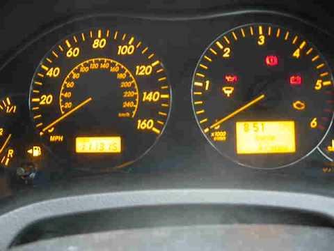 Toyota starting problem D4D diesel