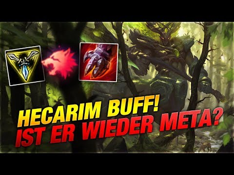 HECARIM BUFF! ist er wieder Meta? [League of Legends] thumbnail