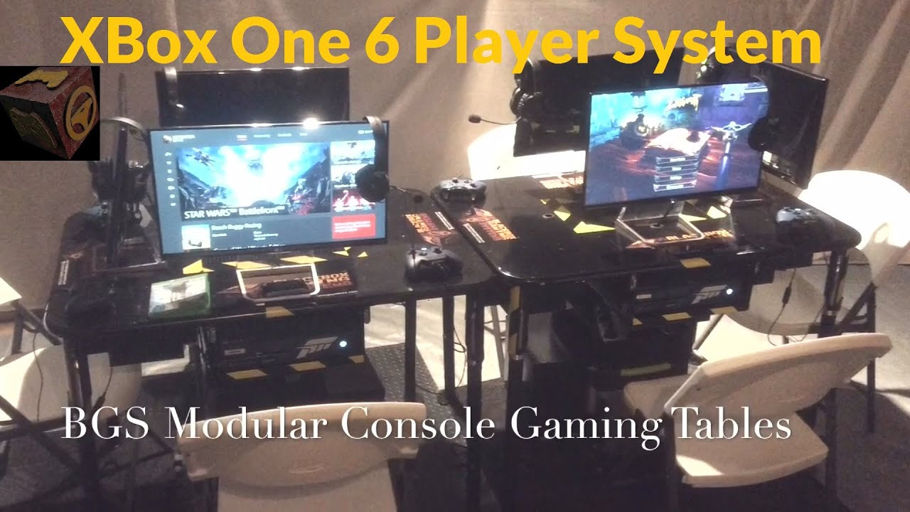 blackbox gaming systems modular console gaming tables xbox one system esports ready - Gaming Tables