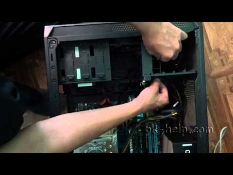 Установка SSD диска в компьютер.