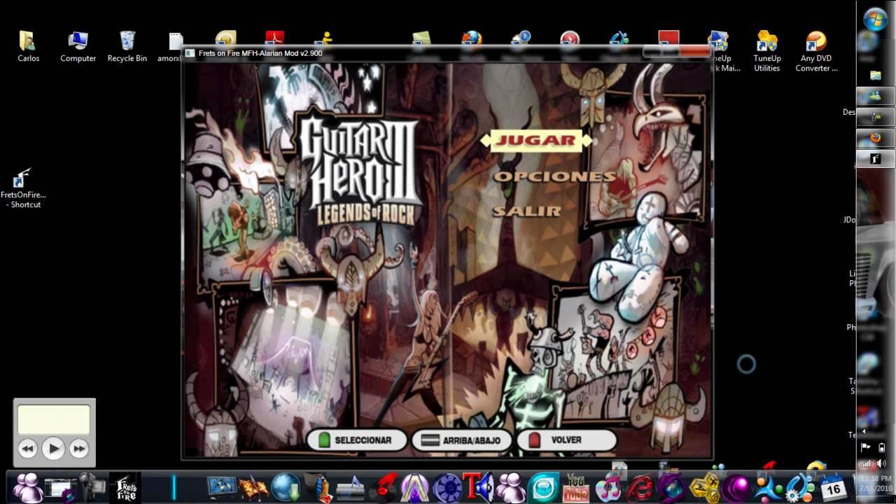 fofix guitar hero 3 theme