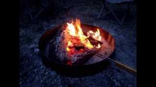 Campfire Pies Using Cast Iron Pie Maker.