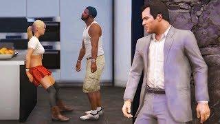 Encontré a Franklin y Tracey Haciendo Esto en GTA 5... Grand Theft Auto V - GTA V