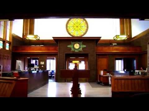 Jewel Box Bank/Merchants National Bank Historic Tour - Grinnell, Iowa