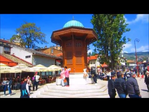 Baščaršija - The main tourist attraction of Sarajevo