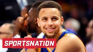 Steph Curry Thinks The Warriors Improved Over The Offseason   SportsNation   ESPN