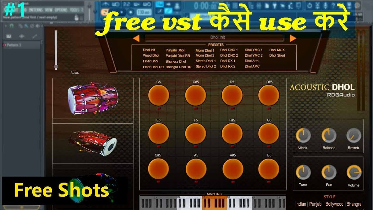 Repeat Free Indian Dhol Instrument |plugin |Free Shots #1 by