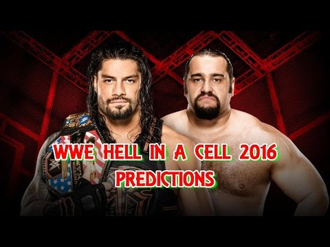 WWE Hell In A Cell 2016 United States Championship Roman Reigns vs. Rusev (Hell in a Cell Match)