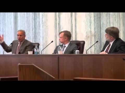 Peter Schiff debates Professor Richard Carnell.