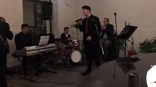 Emanuele Bertelli quando quando, Gospel singers Christmas party Nunziella Nicosia and Friends