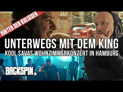 Unterwegs Mit Dem King Kool Savas Wohnzimmerkonzert In Hamburg Hinter Den Kulissen