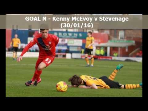 2015-16 - York City FC Goals of the Season