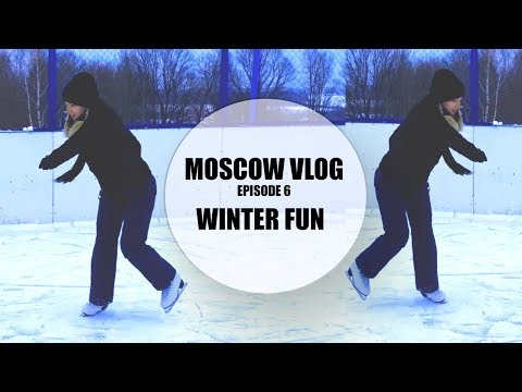 MOSCOW VLOG | WHAT TO DO IN WINTER