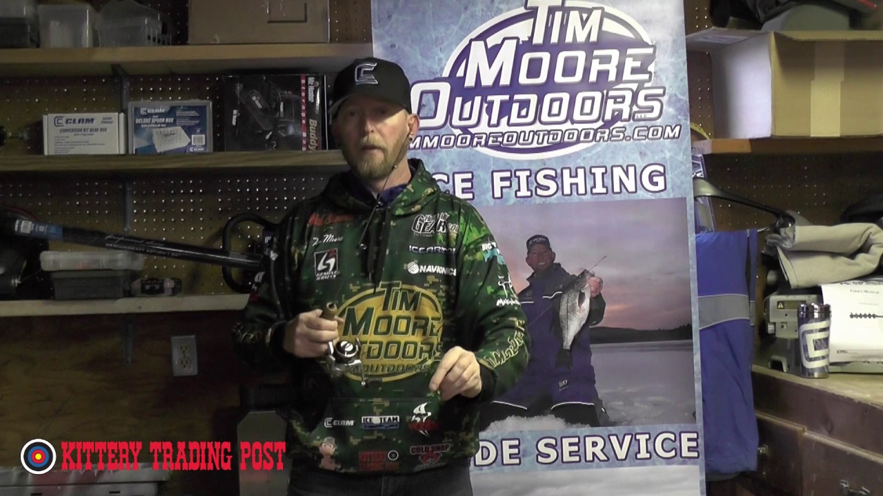 Ktp ice fishing pro tip reduce line twists youtube for Ktp fishing report