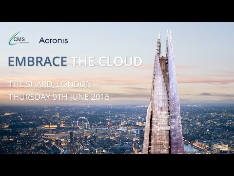 Acronis Embrace the Cloud