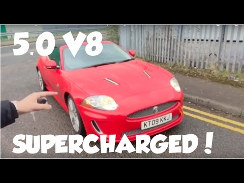 Jaguar Xkr 5 Litre 2009 Review Video Supercharged With Exhaust Sound