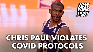 Chris Paul out indefinitely after entering NBA's COVID protocols | New York Post
