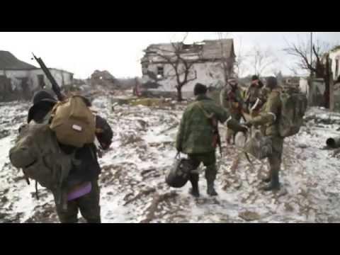 08.02.2015 Ridkodub village under separatists control.