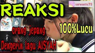 Download REAKSI ORANG JEPANG DENGERIN LAGU AISYAH ISTRI RASULULLAH - AISYAH ISTRI RASULULLAH