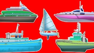 sea-vehicles-learn-vehicles-cartoon-car-video-for-kids-toddlers