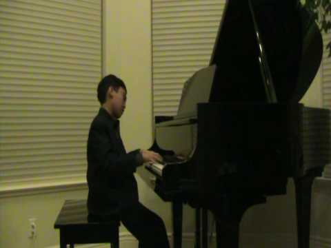 10 year old Christopher playing Chopin's Nocturne ...