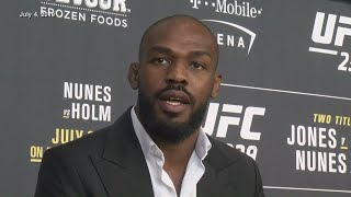 Jon 'Bones' Jones claims to be unaware of battery charge, warrant until now