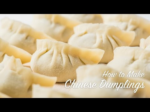 How to Make Chinese Dumplings (recipe) 饺子